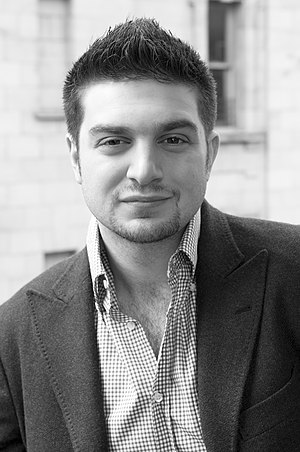 English: Alexander Soros in NYC in the spring ...