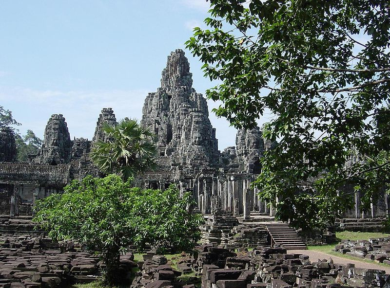 Bayon temple at Angkor, Cambodia (courtesy Charles J Sharp)