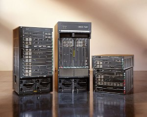 Photo supplied by Cisco Systems Inc. of a 7600...