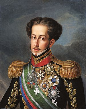 Last portrait of the emperor D. Pedro I, whils...