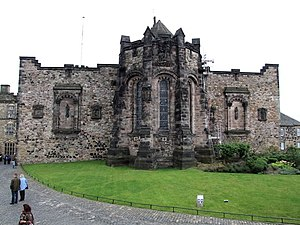 English: Edinburgh Castle, Edinburgh North wal...