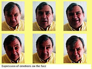 Facial emotions.