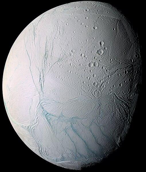 Enceladus, aufgenommen von Cassini