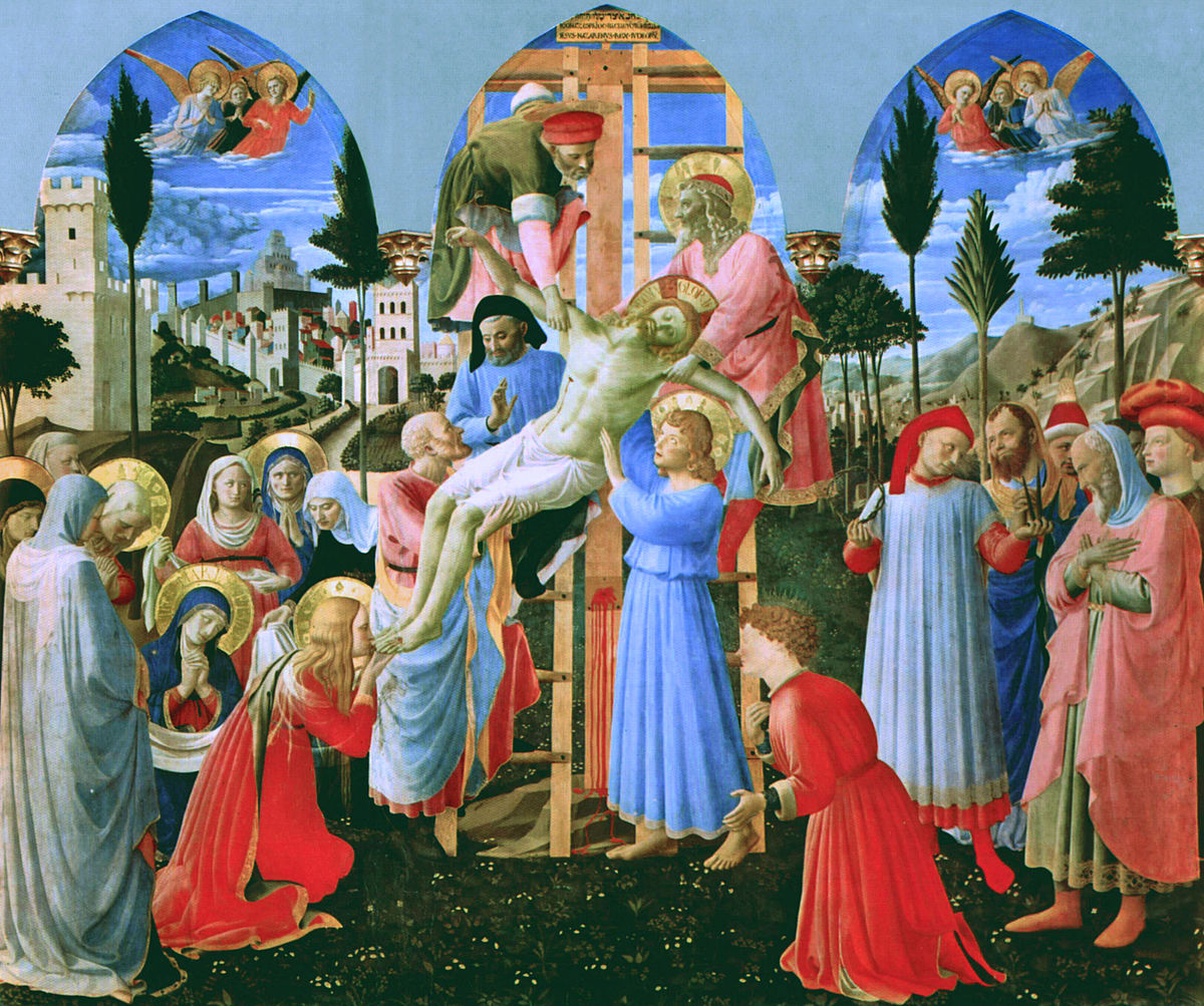 Fra Angelico Deposition Christ