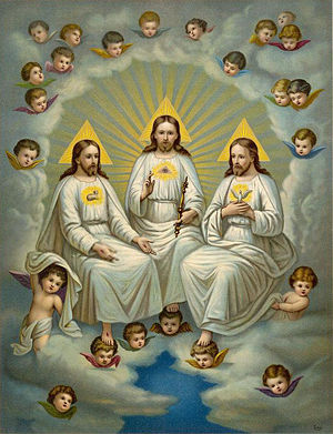 Holy Trinity by Fridolin Leiber (1853–1912)