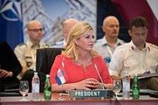 President Grabar-Kitarović chairs NATO Military Committee Conference held in Split in September 2016