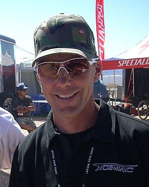 John Tomac, former professional mountainbike r...