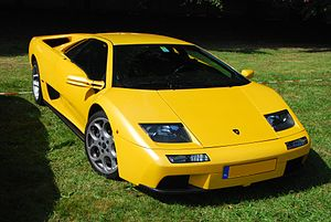English: Lamborghini Diablo seen during Concou...