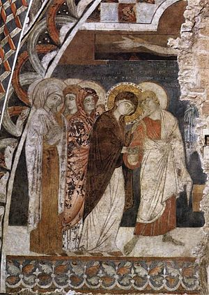 Scenes from the Passion of Christ: Christ on t...