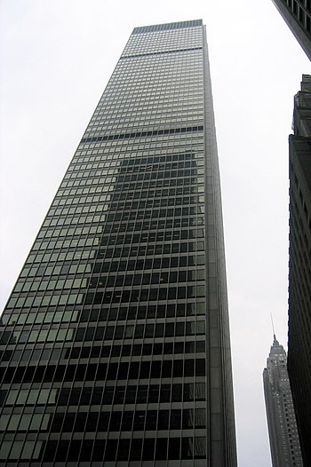 Milbank's world headquarters, in One Chase Man...