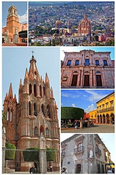 Montage of San Miguel de Allende