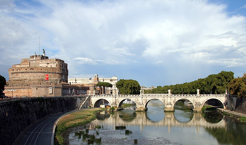 Castel Sant'Angelo and St. Angelo and Ponte Sant'Angelo (Rome)