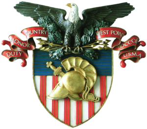 The United States Military Academy's shield, o...