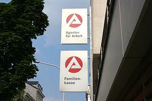 Deutsch: Agentur für Arbeit, Hünefeldstraße in...