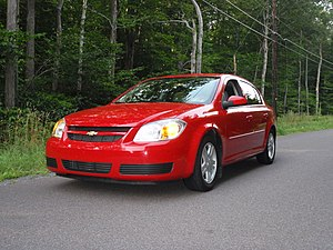 English: 2005 Chevrolet Cobalt LS