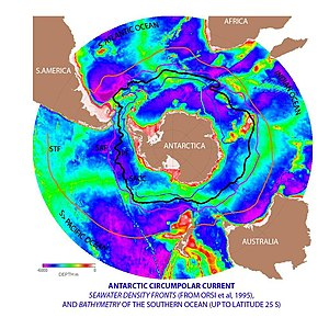 English: Summary: Antarctic circumpolar curren...