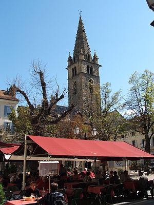 Barcelonnette, département des Alpes-de-Haute-...