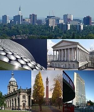 * Birmingham Skyline from the west Selfridges ...