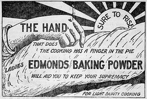 Edmonds Baking Powder