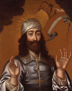 King Charles I, by unknown artist, given to th...
