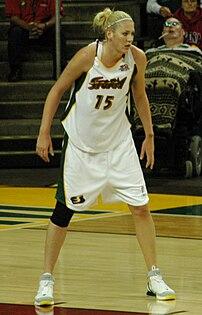 Australian basketball player Lauren Jackson.