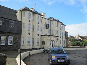 English: Nanhoron Arms Hotel Nefyn