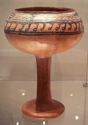 Goblet from Navdatoli, Malwa, 1300 BCE