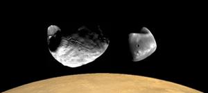 Deimos and Phobos Δεῖμος καὶ Φόϐος