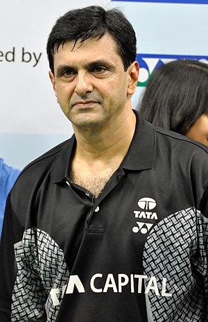 Prakash Padukone at the Tata Open championship...