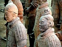 Terracotta Army detail, Xi'an, China