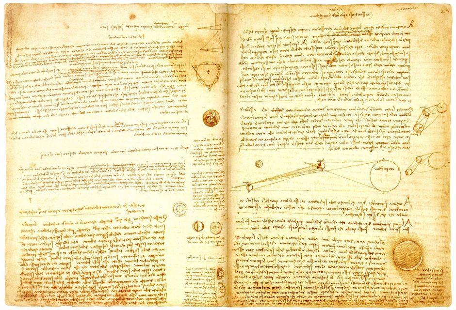 Código Leicester, manuscrito de Leonardo da Vinci