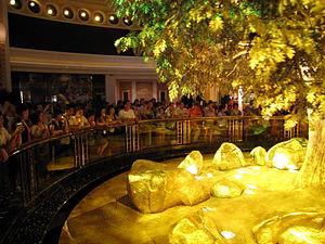 Wynn Macau Tree of Prosperity