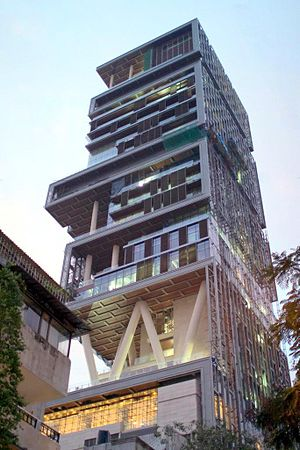 "English: Mukesh Ambani's house ""Antilia&q..."