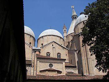 Basilica of Saint Anthony of Padua in Padova.