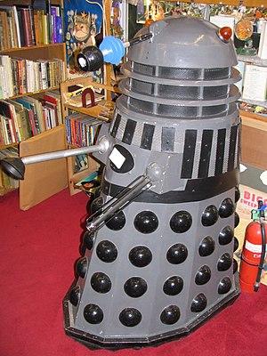 Bookstore Dalek