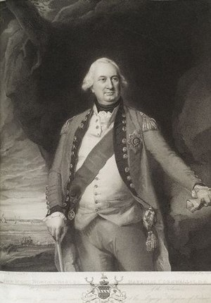 "English: ""Charles Cornwallis, 1st Marques..."