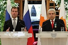News conference following Russian-Cypriot talks in Nicosia, Cyprus