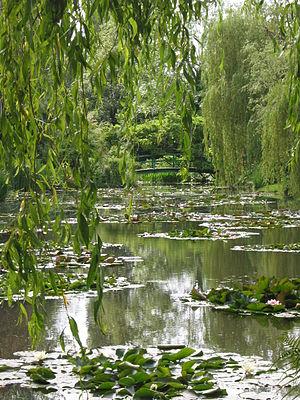 English: Monet's garden at Giverny