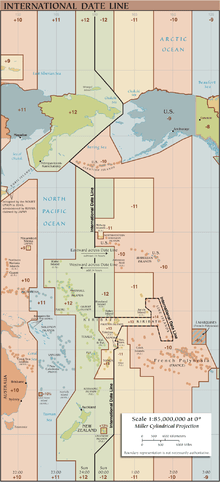 خط التاريخ الدولي ويكيبيديا