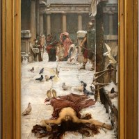 """Saint Eulalia"" by John William Waterhouse"