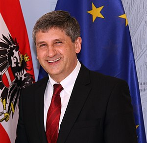 English: Michael Spindelegger, Austrian politician
