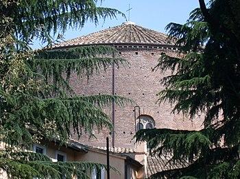 La chiesa di Santo Stefano Rotondo a Roma, sco...