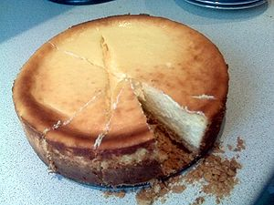 South-African Rose baked Cheese Cake on Dr. St...