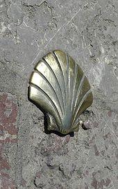 Symbol der Jakobsmuschel