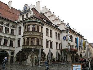 Hofbräuhaus (Yard Brew House), Munich, Germany