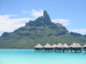 English: Mount Otemanu in Bora Bora