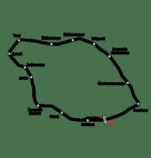Circuit Bremgarten track layout
