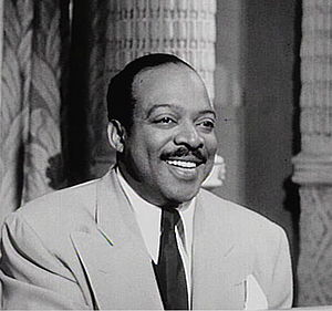 This is a screen capture of Count Basie at the...