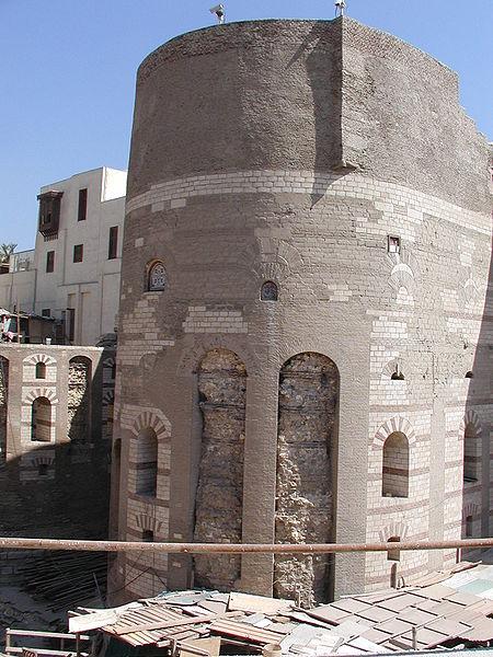 File:GD-EG-Caire-Copte071.Tour de Babylone du quartier copte, (Le Caire, Égypte