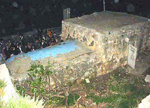 Mark of Nun's grave
